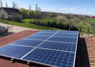Sistem fotovoltaic independent de rețea, 4kw – Bihor